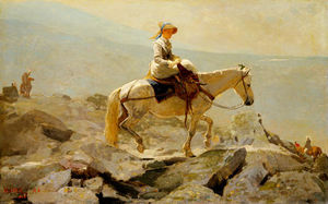 Winslow Homer - The Bridal Path, White Mountains