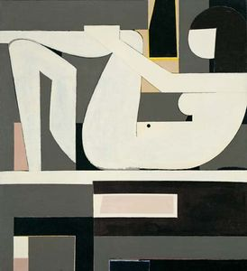 Yiannis Moralis - Reclining Nude