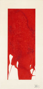 Yves Klein - Monochrome Red Untitled