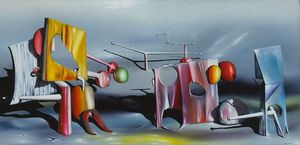 Yves Tanguy - Reply to Red