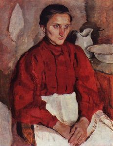 Zinaida Serebriakova - Portrait of a nurse