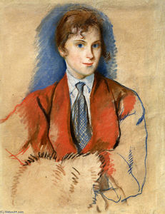 Zinaida Serebriakova - Girl with tie