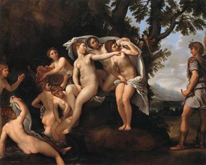 Francesco Albani - Diana and Actaeon