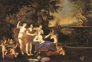Francesco Albani - Venus Attended by Nymphs and Cupids