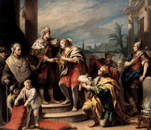 Jacopo Amigoni - Joseph in the Pharaoh-s Palace