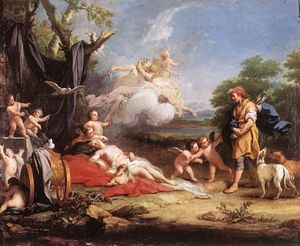 Jacopo Amigoni - Venus and Adonis