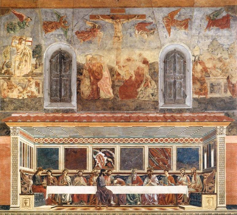 "Last Supper and Stories of Christ's Passion"", Frescoes by Andrea ..."