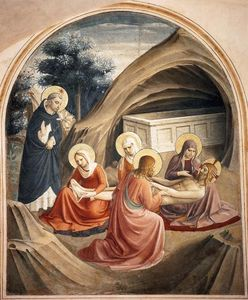 Fra Angelico - Lamentation over Christ (Cell 2)