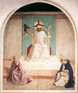 Fra Angelico - Mocking of Christ (Cell 7)