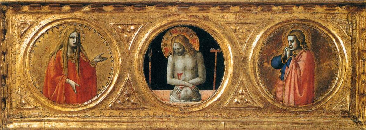 Predella of the St Peter Martyr Altarpiece (detail), 1427 by Fra Angelico (1395-1455, Italy) | Famous Paintings Reproductions | WahooArt.com