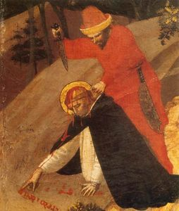 Fra Angelico - St Peter Martyr Altarpiece (detail)