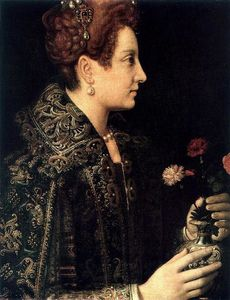 Sofonisba Anguissola - Profile Portrait of a Young Woman