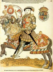 Cornelis Anthonisz - Henry VIII of England on Horseback