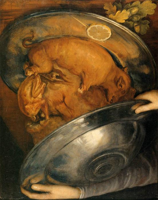 Order Museum Quality Reproductions : The Cook, 1570 by Giuseppe Arcimboldo (1527-1593, Italy) | WahooArt.com