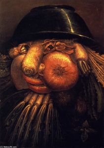 Giuseppe Arcimboldo - The Vegetable Gardener