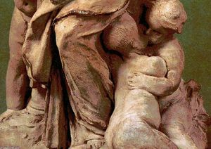 Gian Lorenzo Bernini - Charity with four children (detail)