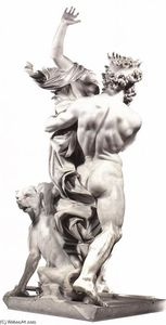Gian Lorenzo Bernini - The Rape of Proserpina (rear view)