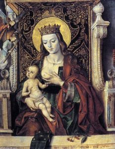 Pedro Berruguete - Virgin and Child