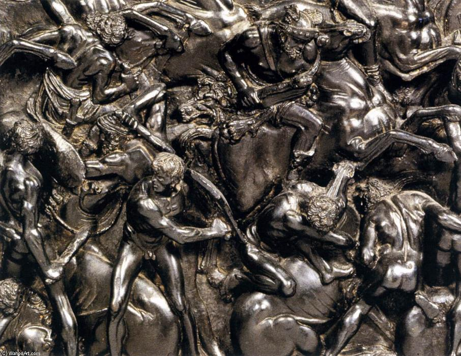 Battle (detail), Bronze by Bertoldo Di Giovanni (1435-1491, Italy)