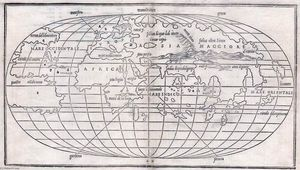 Benedetto Bordone - World Map