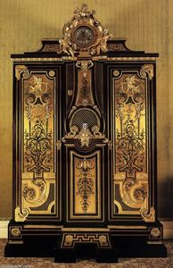 André Charles Boulle - Wardrobe and clock