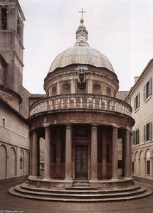Order Museum Quality Copies | Tempietto, 1502 by Donato Bramante (1444-1514, Italy) | WahooArt.com