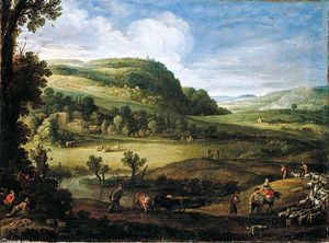 Paul Bril - An Extensive Landscape