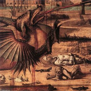 Vittore Carpaccio - St George and the Dragon (detail)