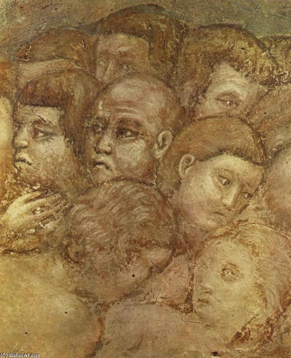 The Last Judgement (detail) (9), Frescoes by Pietro Cavallini (1240-1330, Italy)