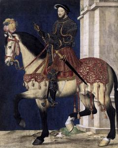 François Clouet - Portrait of Francis I, King of France