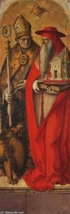 Carlo Crivelli - St Jerome and St Augustine