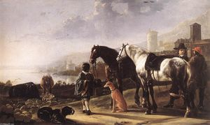 Aelbert Jacobsz Cuyp - The Negro Page