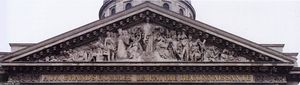 David D-angers - Pediment relief of the Pantheon