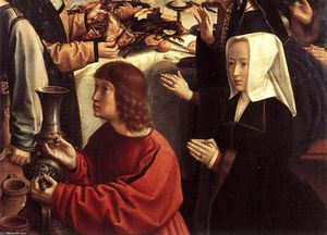 Gerard David - The Marriage at Cana (detail)