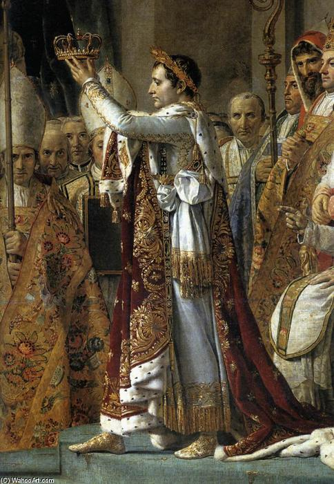 Consecration of the Emperor Napoleon I (detail), 1805 by Jacques Louis David (1748-1800, France) | Famous Paintings Reproductions | WahooArt.com