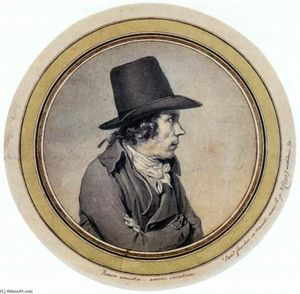 Jacques Louis David - Portrait of Jeanbon Saint-André
