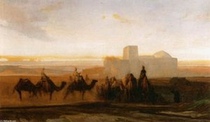 Alexandre Gabriel Decamps - The Caravan