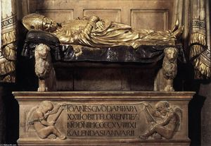 Donatello - Funeral Monument to John XXIII (detail)