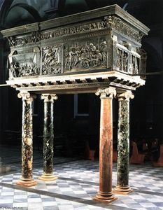 Donatello - Pulpit (on the right)