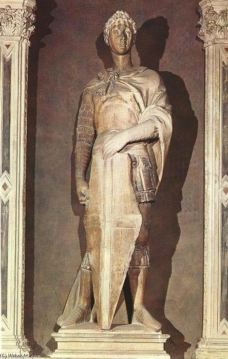 St George, 1416 by Donatello (1386-1466, Italy) | Museum Quality Reproductions | WahooArt.com