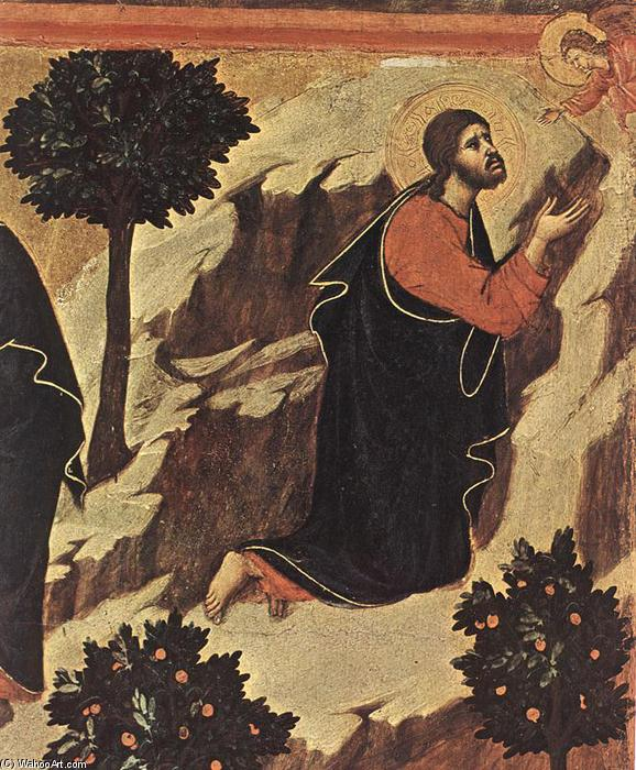 Agony in the Garden (detail), 1308 by Duccio Di Buoninsegna (1255-1319, Italy) | Museum Quality Reproductions | WahooArt.com