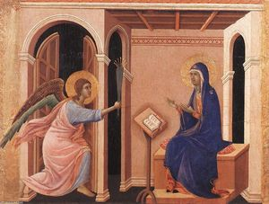 Duccio Di Buoninsegna - Announcement of Death to the Virgin