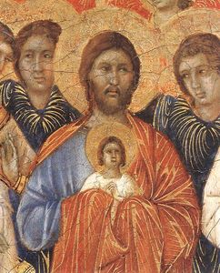 Duccio Di Buoninsegna - Death of the Virgin (detail)