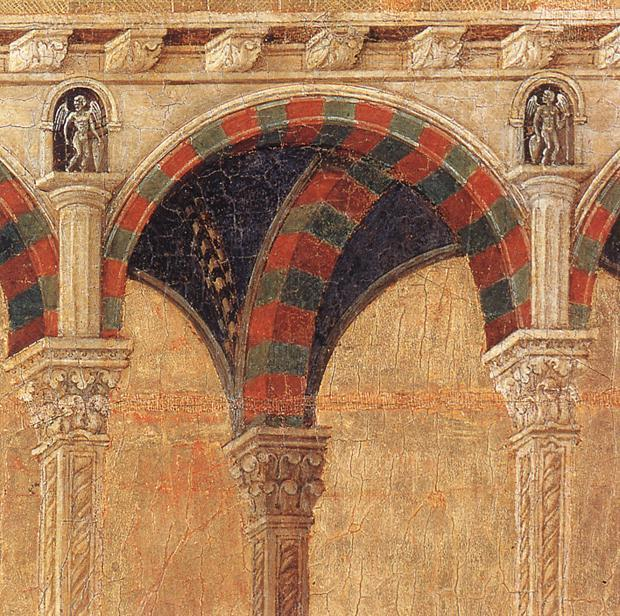Disputation with the Doctors (detail), 1308 by Duccio Di Buoninsegna (1255-1319, Italy) | Famous Paintings Reproductions | WahooArt.com