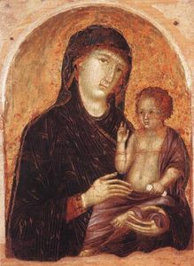 Duccio Di Buoninsegna - Madonna and Child