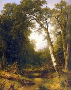 Asher Brown Durand - A Stream in the Wood