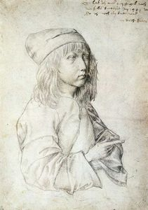 Albrecht Durer - Self-Portrait at 13