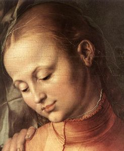 Albrecht Durer - St Anne with the Virgin and Child (detail)