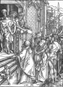 Albrecht Durer - The Large Passion: 4. Ecce Homo