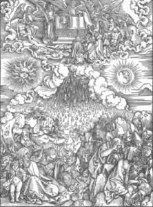 Albrecht Durer - The Revelation of St John: 5. Opening the Fifth and Sixth Seals
